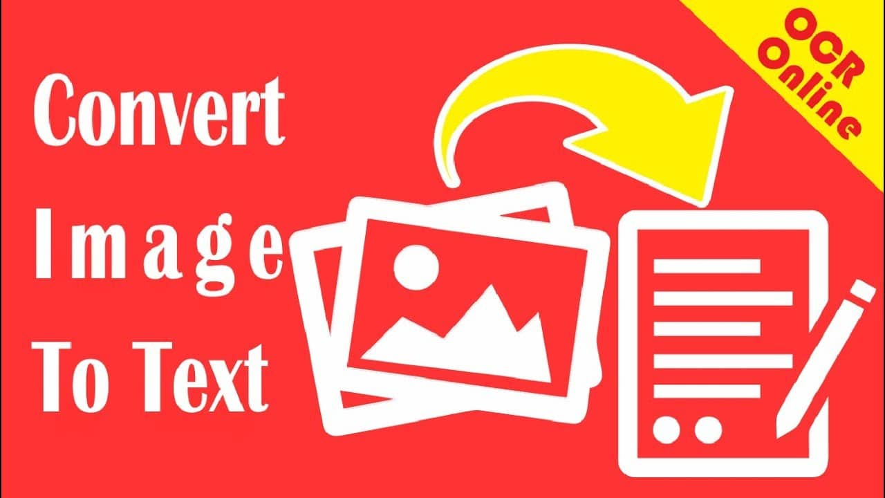 Convert Image To Text With OCR