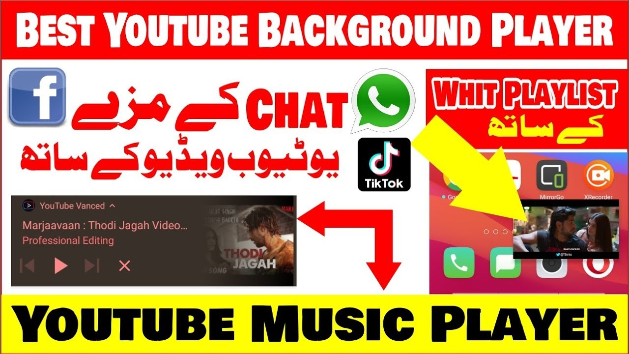 Youtube Background Player Android