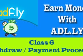 Earn money with adfly