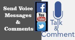 Send voice messages