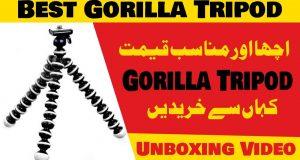 Gorilla Tripod For Mobile